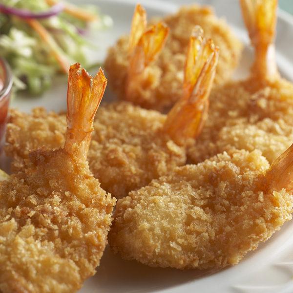 Breaded Shrimp Platter